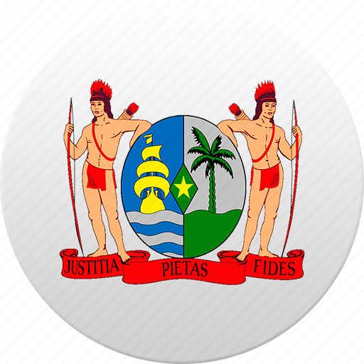 country, state, state emblem, suriname icon