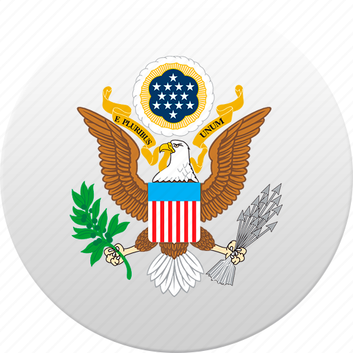 country, state, state emblem, united states, usa icon