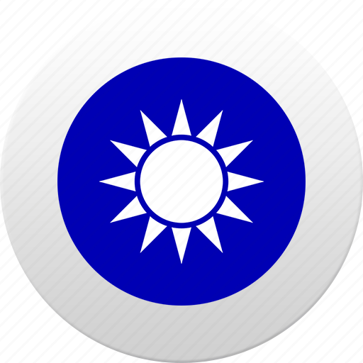 country, state, state emblem, taiwan icon