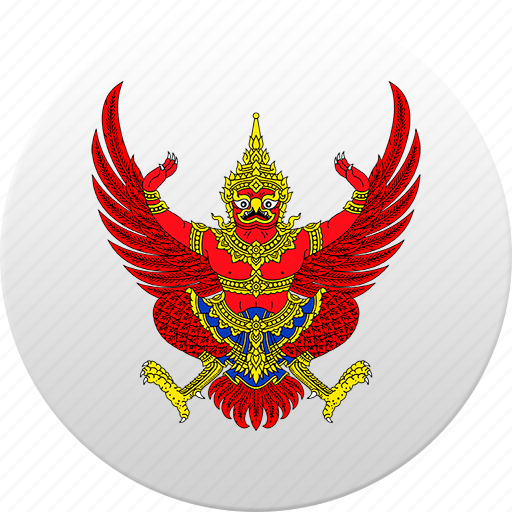 country, state, state emblem, thailand icon
