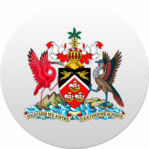 country, state, state emblem, tobago, trinidad icon