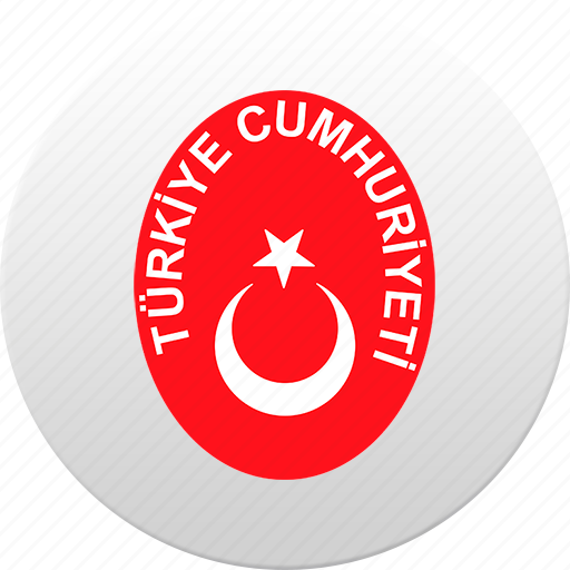 country, state, state emblem, turkey icon