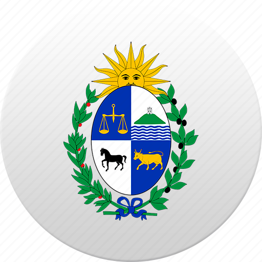 country, state, state emblem, uruguay, uruguayan icon