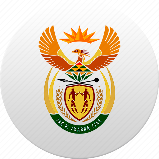 africa, african, country, south africa, state, state emblem icon