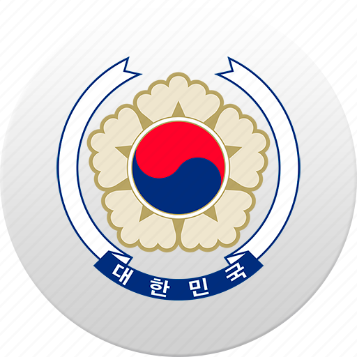 country, south korea, state, state emblem icon
