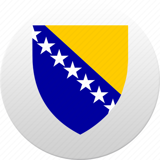 bosnia, country, herzegovina, state, state emblem icon