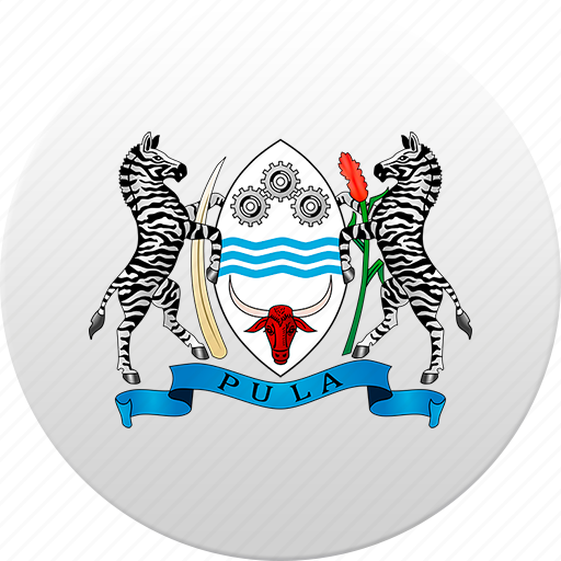 botswana, country, state, state emblem icon