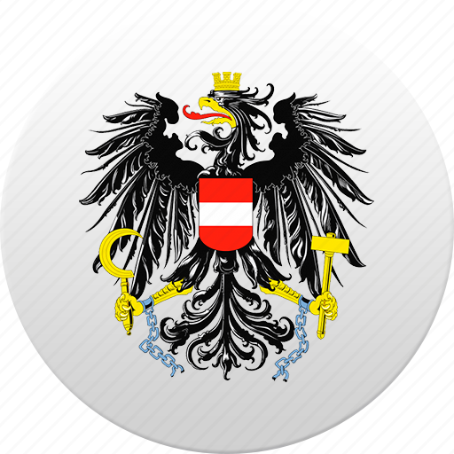 austria, country, state, state emblem icon