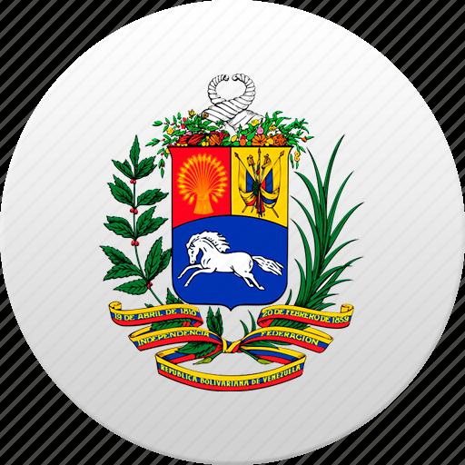 country, state, state emblem, venezuela, venezuelan icon