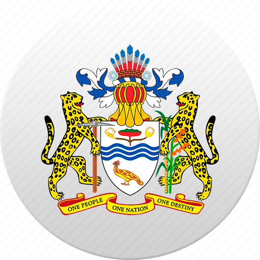 country, guyana, state, state emblem icon