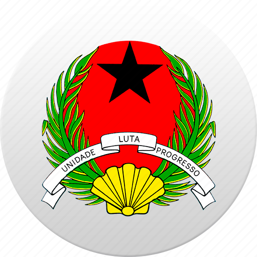 country, guinea bissau, state, state emblem icon