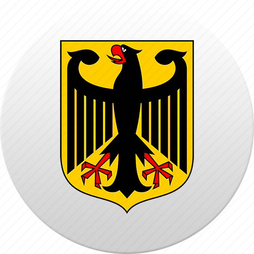 country, germany, state, state emblem icon