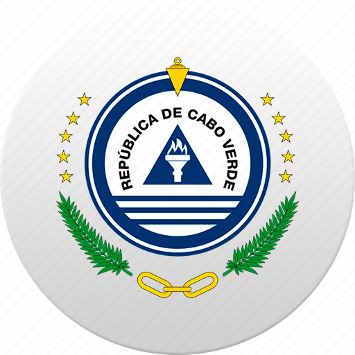 cape verde, country, state, state emblem icon