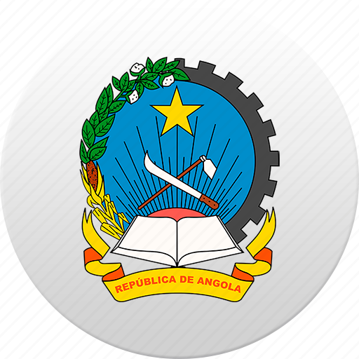 angola, country, state, state emblem icon