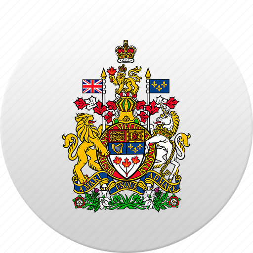 canada, canadian, country, state, state emblem icon