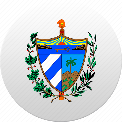 country, cuba, state, state emblem icon