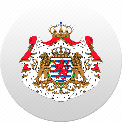 country, luxembourg, state, state emblem icon