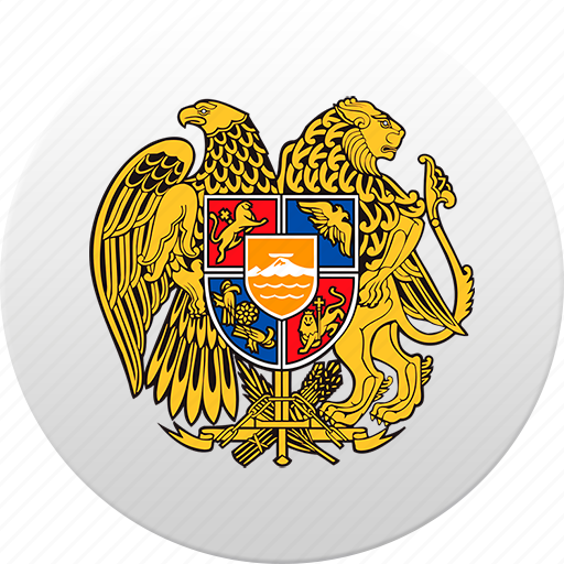 armenia, country, state, state emblem icon