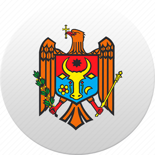 country, moldova, moldovan, state, state emblem icon