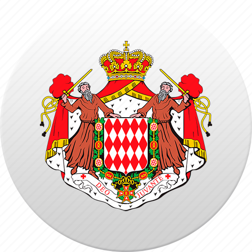 country, monaco, monegasque, state, state emblem icon