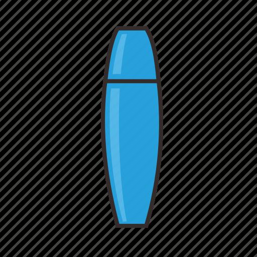 blue, highlighter, ink, marker, school, stationary icon