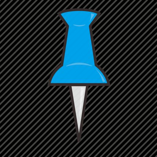 book, needle, school, stationary icon