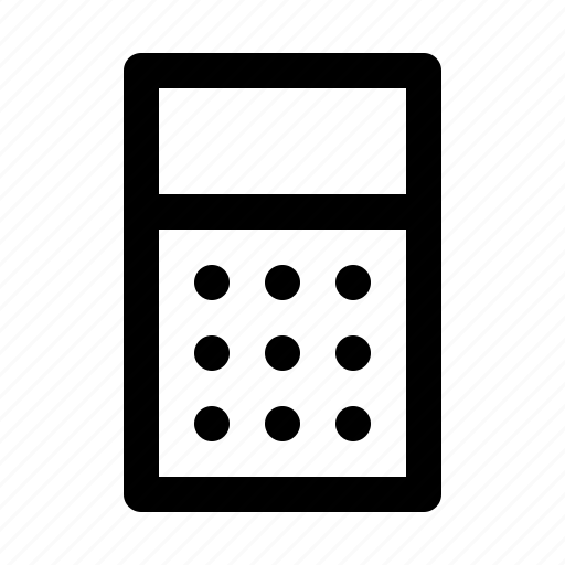 business, calculator, desk, office, stationary icon