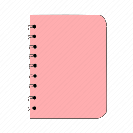 book, note, notebook, pad icon