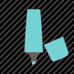 highlighter, marker, pen icon