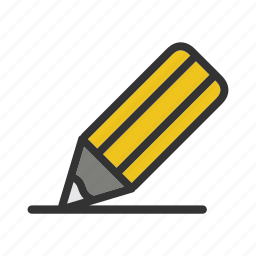 business, education, illustration, office, pencil, school, stationery icon