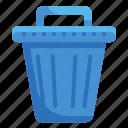 basket, bin, can, garbage, tools, trash, utensils icon