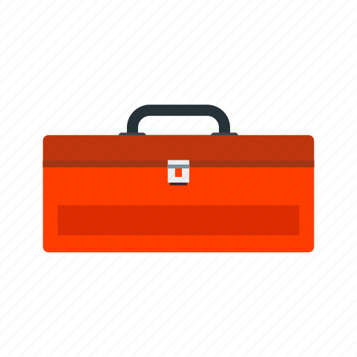 box, color, container, pencil, ruler, set icon