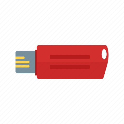 data, drive, flash, memory, stick, storage, usb icon