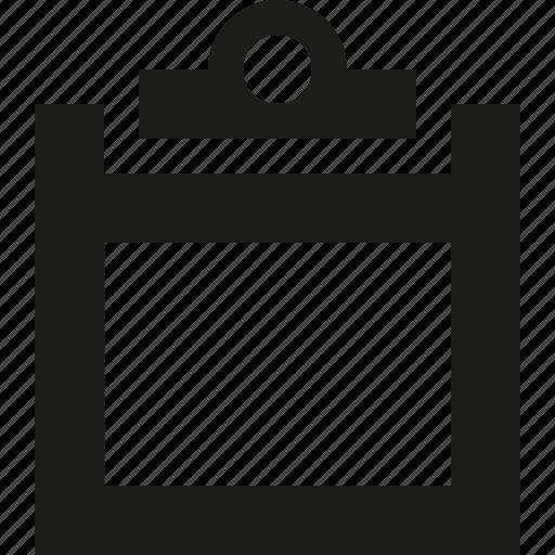 clipboard, paper icon