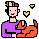 avatar, cat, love, man, pet