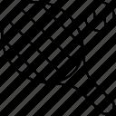 ball, grid, racket, tennis icon