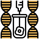 biotechnology, dna, engineering, genetic, modification icon
