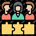 collaboration, colleague, corporate, team, teamwork icon