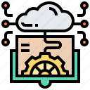 engineering, information, innovation, knowledge, modification icon