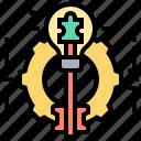 idea, intelligence, problem, solution, solving icon