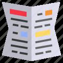 document, gazetted, journal, news, newspaper