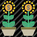 coin, invest, investment, money, spend, venture icon