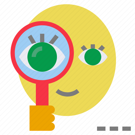 examine, explore, investigate, research, verify icon