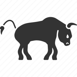animal, beef, bull, calf, cattle, grazing cow, ox icon