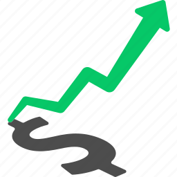 benefit, dividend, growth, investment, margin, profit, stock icon