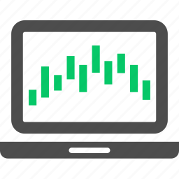 analytics, chart, graph, report, statistics, stock, trade icon