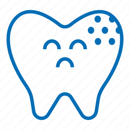 caries, character, decay, dental, dentist, medical, molar, tooth icon