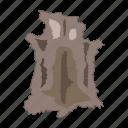 animal, fur, period, prehistoric, skin, stone age icon