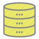 database, storage, data, server
