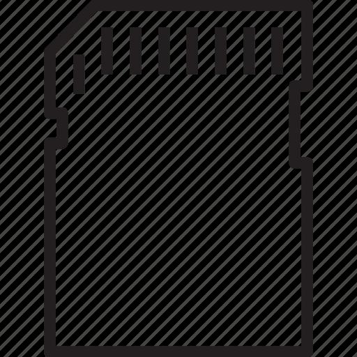 cart, flash, sd, storage icon